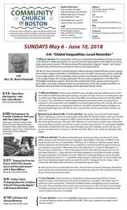 May-June 2018 newsletter