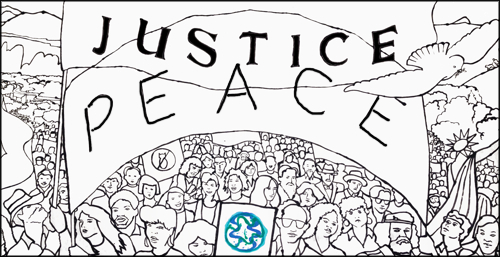 Justice Peace Banner for Website