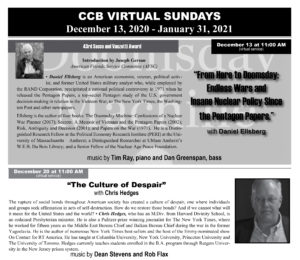 Read the current edition of the CCB Newsletter